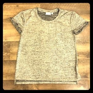 GOLD SHIMMERY PARTY TEE